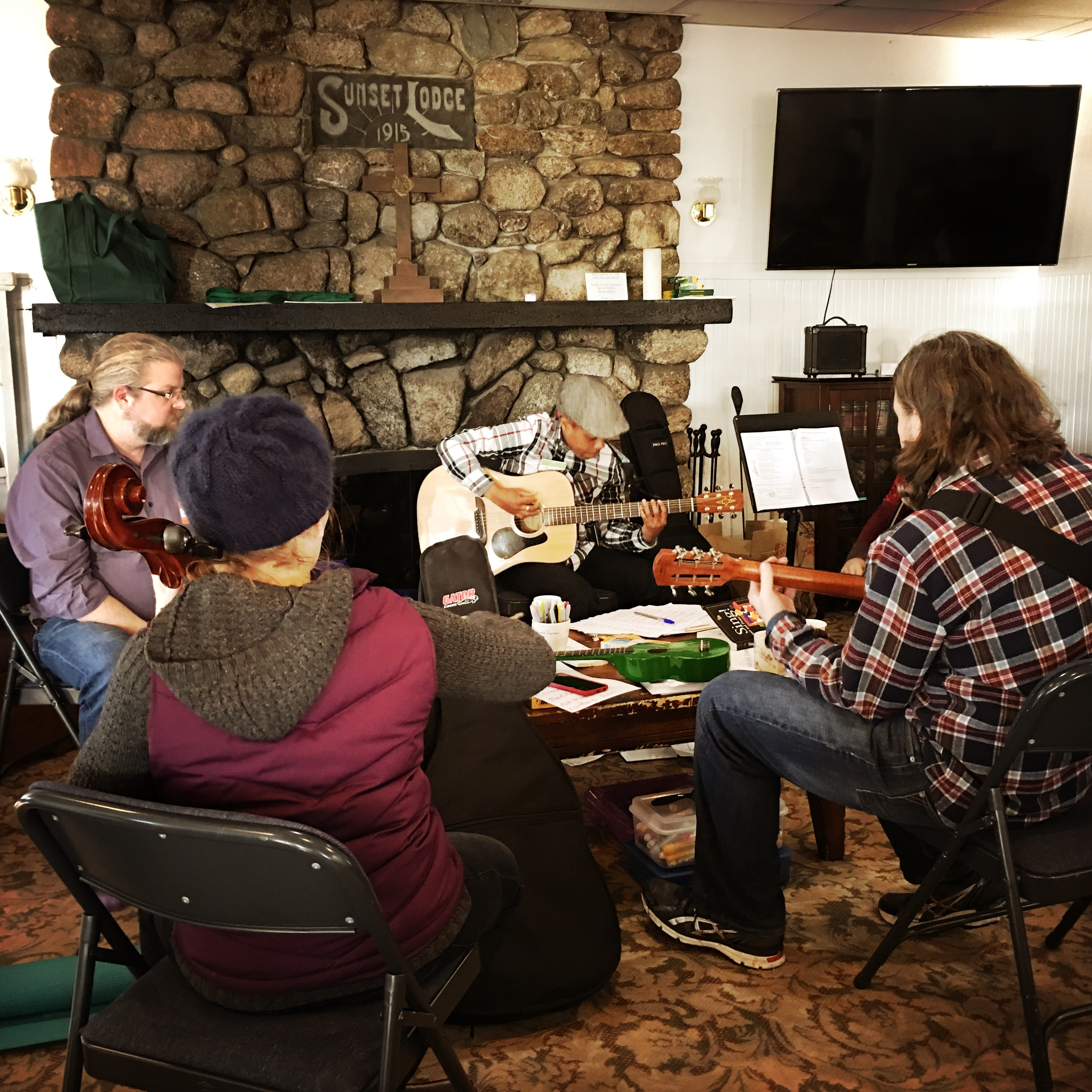 2018 01 13 retreat music
